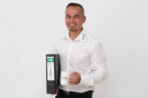 Christian Griesel: Personalleiter u.a. zuständig für die allgemeine Verwaltung und das Personalmanagement