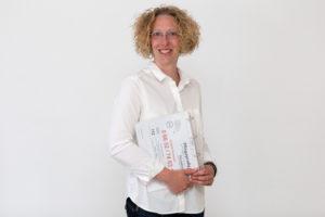 Rebekka Krostewitz: Stellvertretende Pflegedienstleiterin u.a. Beratung, Pflegevisiten, Praxisanleitung